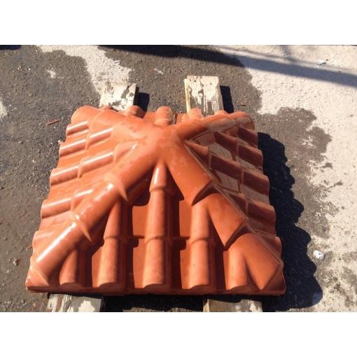Капелюх на стовп Черепиця 45х45x17 см ціна  abfb075dd5fd6