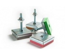 Виброопора регулируемая Vibrofix Level 42 20-25 кг 930 об/мин М12 розовая