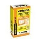 Клей для укладання керамічної плитки і керамограніта weber.vetonit high fix 1,5 кг/м2 25 кг