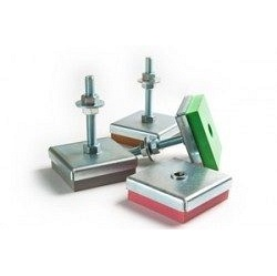 Виброопора регулируемая Vibrofix Level 220 85-105 кг 930 об/мин М12 красная