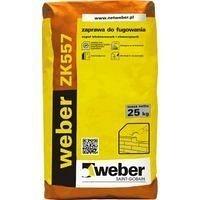 Раствор weber ZK557 для расшивки швов в кладке 10-20 мм 4 кг/м2 25 кг антрацит (color F10)