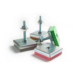Віброопора регульована Vibrofix Level 450 170-210 кг 870 об/хв М12 сіра
