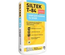 Клей для облицовки каминов и печей SILTEK Т-84 25 кг