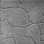 Плитка тротуарная вибролитая квадрат-песчаник 300x300x30 мм серая