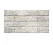 Плитка для підлоги KERAMIN Зальцбург 7 керамограніт 300х600 мм біла рельєфна