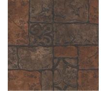 Керамограніт Грес-рустик KERAMIN Бастіон 4 400х400 мм коричневий матовий