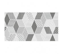 Керамическая плитка KERAMIN Тренд 7 тип 1 300х600 мм серая белая матовая