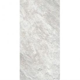 Плитка для пола KERAMIN Кварцит 7 керамогранит 300х600 мм светло-серая рельефная