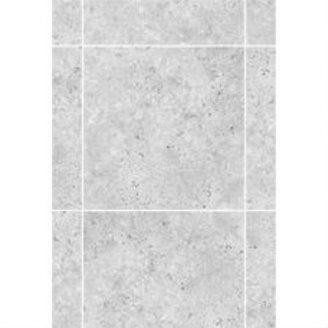 Керамическая плитка KERAMIN Калейдоскоп 7С 275х400 мм серая матовая