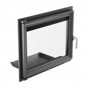 Дверка Kratki MAJA с прямым стеклом 600х491 мм