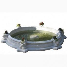 Бассейн для фонтана Харьковпрофбетон большой 3х4,2 м