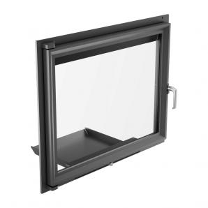 Дверцята Kratki AMELIA з прямим склом 750х607 мм