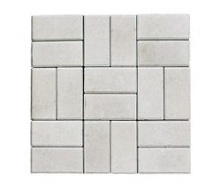 Тротуарная плитка ЭКО Кирпич 200х100х60 мм белая