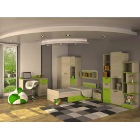 Детская спальня Jasmine Blonski №6 дсп светлый коимбра-лайм