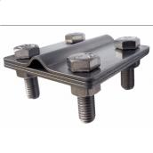 Затискач нержавійка смуга/дріт 8 мм
