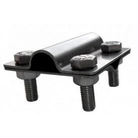 Затискач прут неіржавіюча сталь 16 мм дріт 8 мм