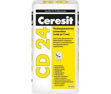 Полимерцементная шпаклевка Ceresit CD 24 25 кг 5-30 мм