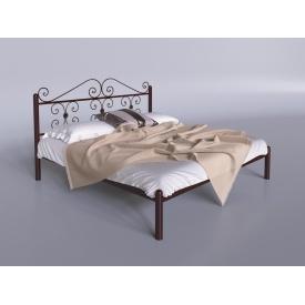 Двоспальне ліжко Бегонія Тенеро 1400х2000 мм металева