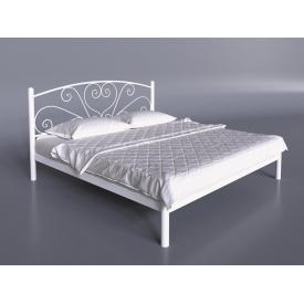Двуспальная кровать Кариссо Тенеро 1600х1900 мм металлическая