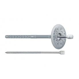 Дюбель Wkret-met для крепления теплоизоляции с пластиковым гвоздем 10х120 мм 100 шт
