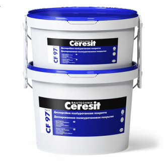 Дисперсійна ПУ фарба Ceresit CF 97 4,8 кг