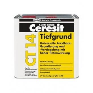 Глубокопроникающая грунтовка Ceresit CT 14 на растворителях 5 л