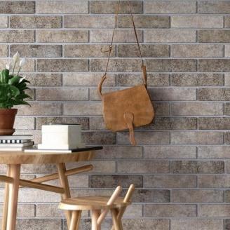 Клинкерная плитка Golden Tile BrickStyle Seven Tones Tobaco 250х60х10 мм табачный (34З020)