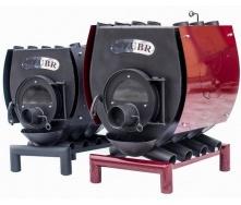 Булерьян Zubr ТИП 04 жаропрочная сталь 08КП 35 кВт 710х870х1300 мм с варочной поверхностью
