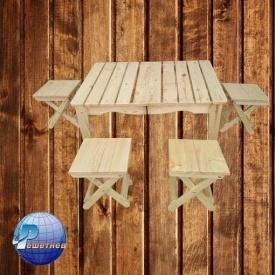 Набор складной мебели для природы Пикник 505x725x210 мм