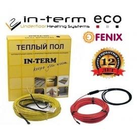 Електричний нагрівальний кабель для теплої підлоги In-term ECO 20 Вт/м