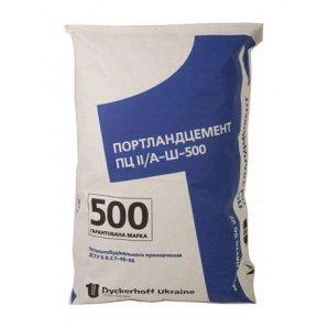 Портландцемент Dyckerhoff ПЦ ІІ/А-Ш-500 50 кг