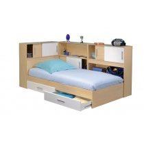 Дитяче ліжко з ящиками