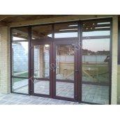 Двери раздвижные ROTO PATIO Z металлопластиковые WDS 7 SERIES 2000х2200 см