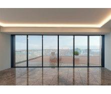 Алюмінієва панорамна двері HOFFMANN 70 2000х2200 см
