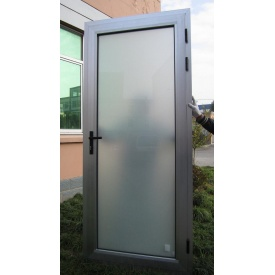 Двери алюминиевые SOLUR 70 входные 930х2330 см