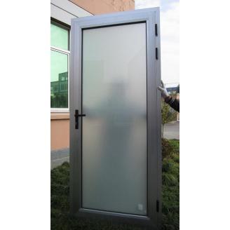 Двері алюмінієві SOLUR 70 вхідні 930х2330 см