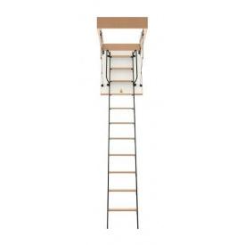 Горищні сходи Bukwood Luxe Metal ST 120х60 см