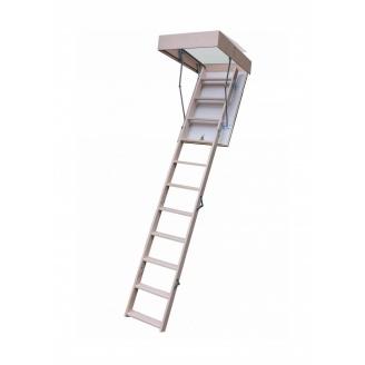 Чердачная лестница Bukwood Compact Long 110х60 см