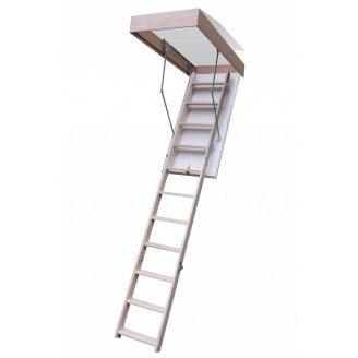 Чердачная лестница Bukwood Compact ST 110х80 см
