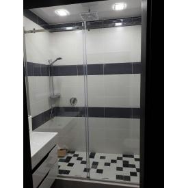 Душевые двери раздвижные для ванной в санузел