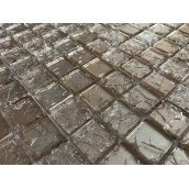Стеклянная мозаика Керамик Полесье Gretta Beige 300х300х6 мм