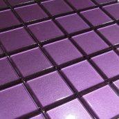 Стеклянная мозаика Керамик Полесье Glance Purple 48 300х300х6 мм