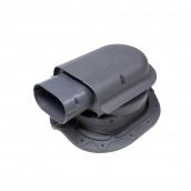 Проходной элемент VILPE SOLAR CLASSIC 351х266 мм серый