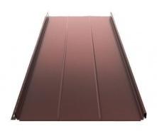 Фальцева покрівля Ruukki Classic D Silence Pural matt 505 мм шоколадний