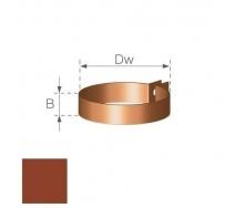 Хомут водосточной труби Gamrat 90 мм кирпичный