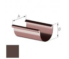 Желоб Gamrat 100 мм 3 м коричневый