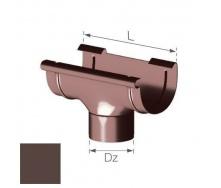 Сливная воронка Gamrat 125/110 мм коричневая