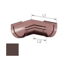 Внутренний угол Gamrat 125 мм коричневый