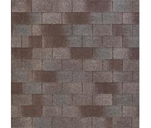 Битумно-полимерная черепица Tegola Nobil Tile Лофт 1000х340 мм серо-коричневый