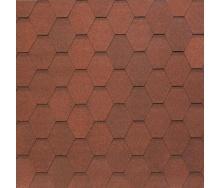 Бітумно-полімерна черепиця Tegola Nobil Tile Вест 1000х337 мм темно-червоний